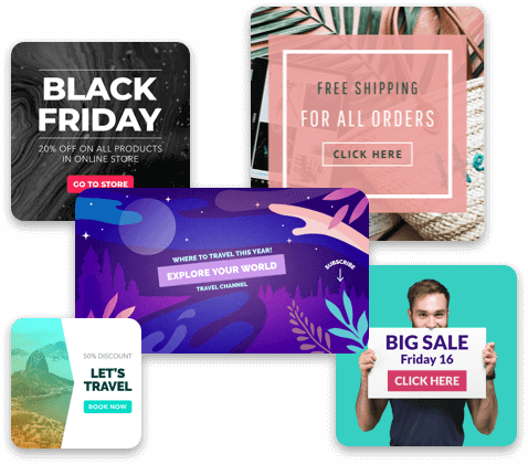 Thousands Of Banner Templates