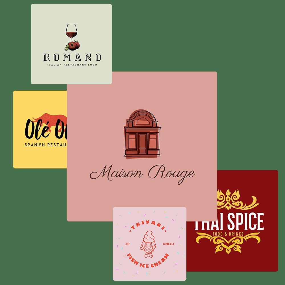 Make A Tasty Restaurant Logo In A Few Clicks Placeit